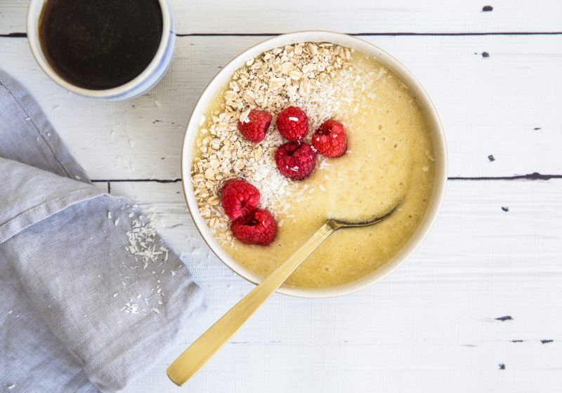 Tropisk Fiber-Smoothie Bowl