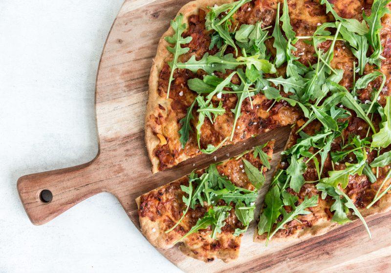 Glutenfri Kikærtepizza