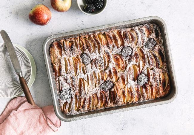 æblekage i bradepande