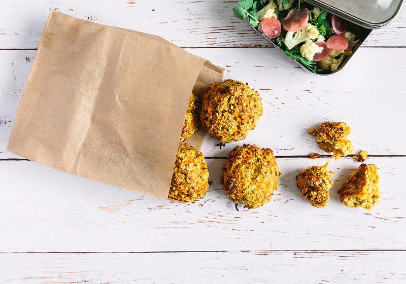 glutenfri madpakkeboller med ekstra fibre fra FiberHUSK ® med